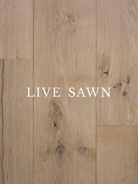 Live Sawn Oak Hardwood