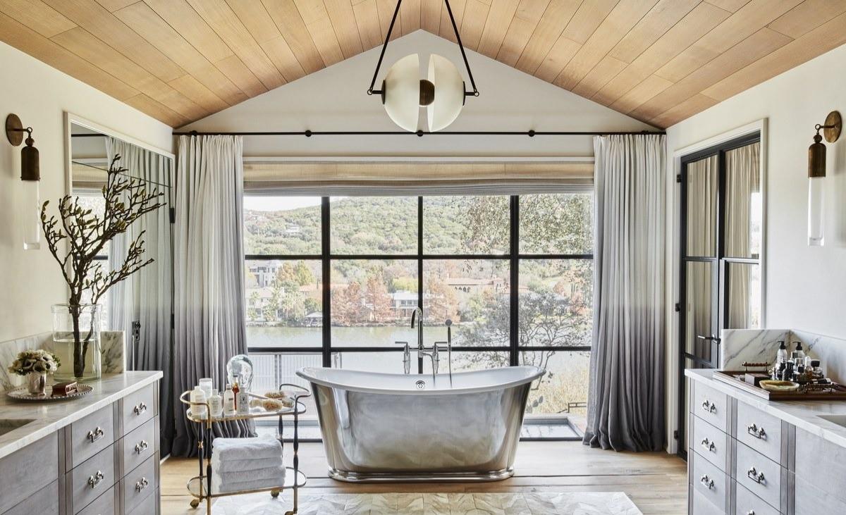 Natural Face Texas Post Oak Hardwood Flooring and Ceiling Material