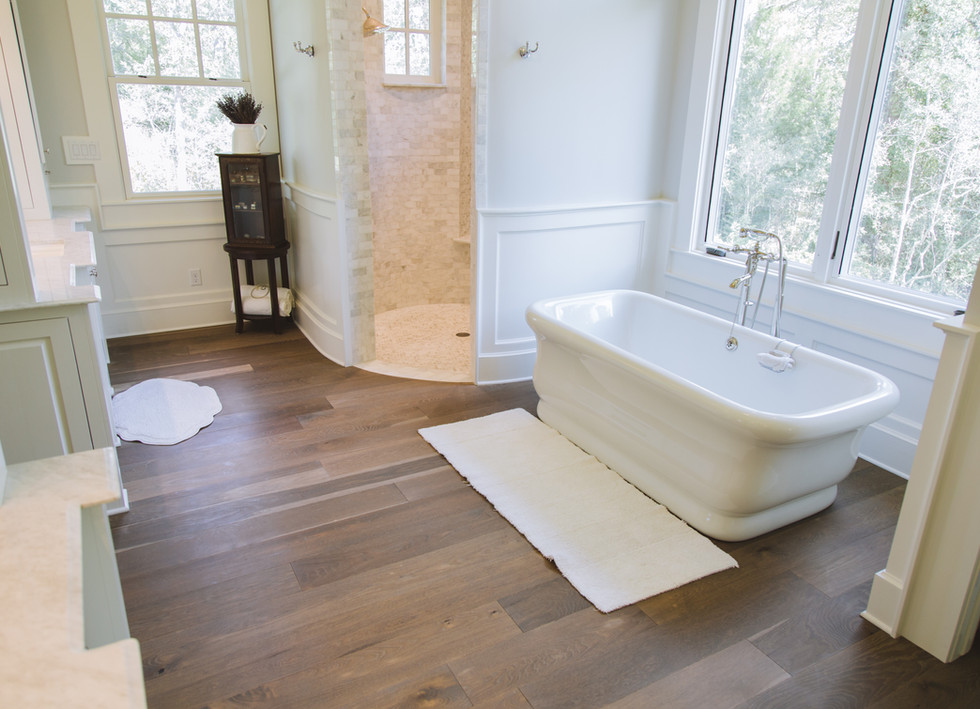 Live Sawn Oak Hardwood Flooring Farmhouse