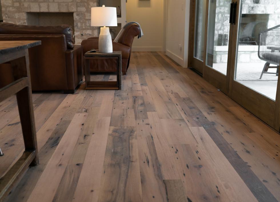 Reclaimed Oak Hardwood Flooring