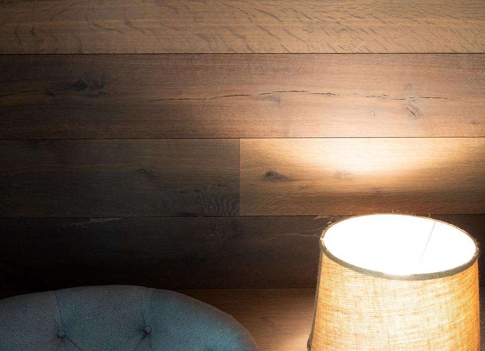 Texas Post Oak Hardwood Wall Cladding