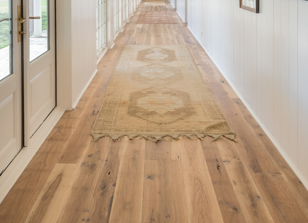 Natural Face Texas Post Oak Hardwood Flooring Farmhouse