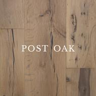Texas Post Oak Hardwood Flooring Specifications