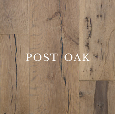 Texas Post Oak Hardwood Flooring Specifications
