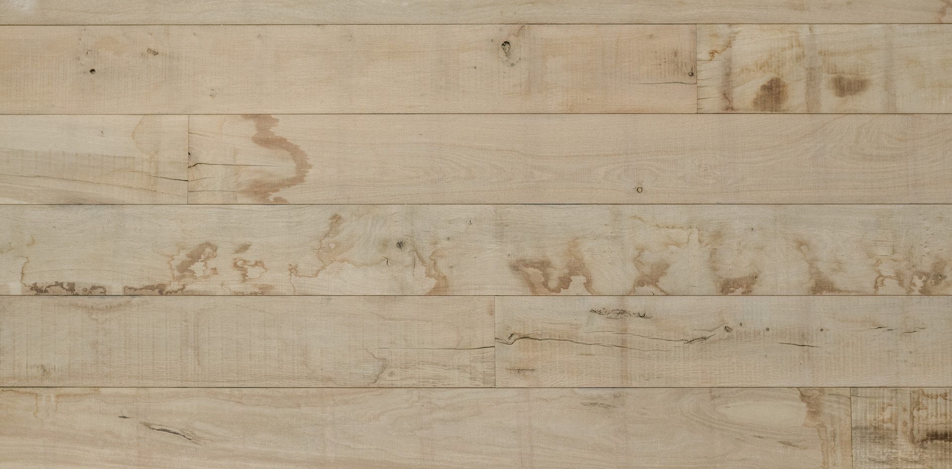 Natural Face Texas Post Oak Hardwood Wall Cladding