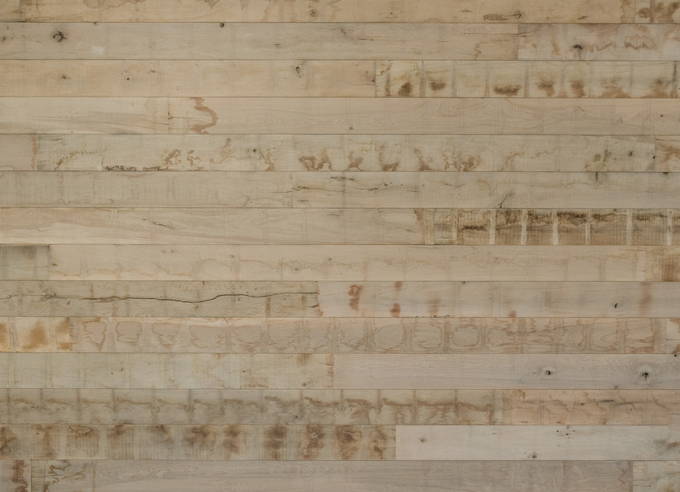 Natural Face Texas Post Oak Hardwood Wall Cladding