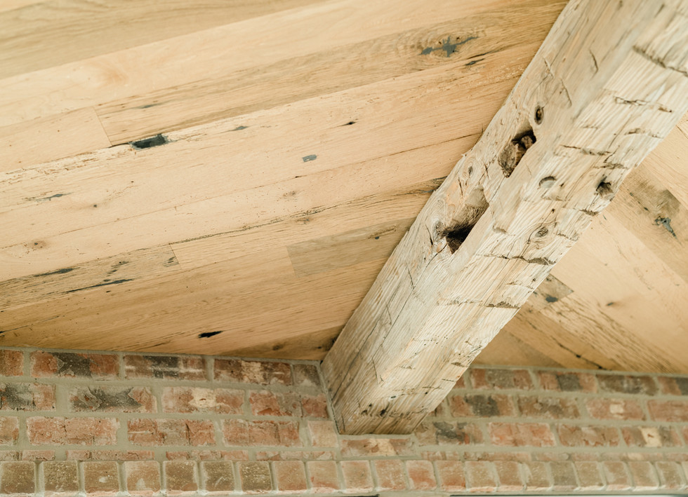 Texas Post Oak Hardwood Ceiling Material