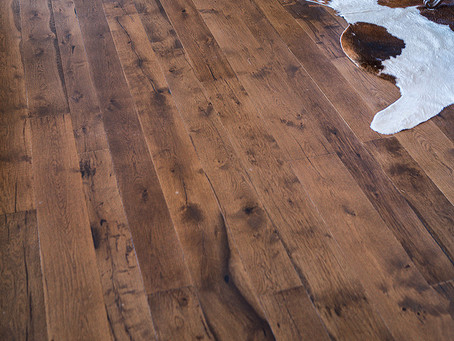 How To Care for Hardwood Floors in Winter