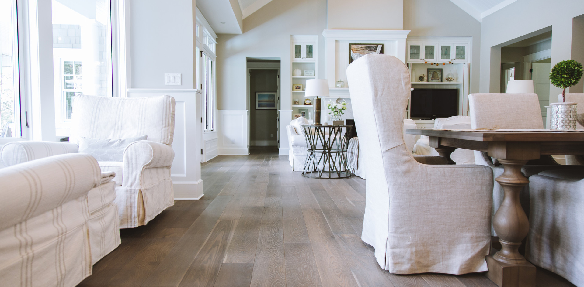 Live Sawn Oak Hardwood Flooring Farmhouse
