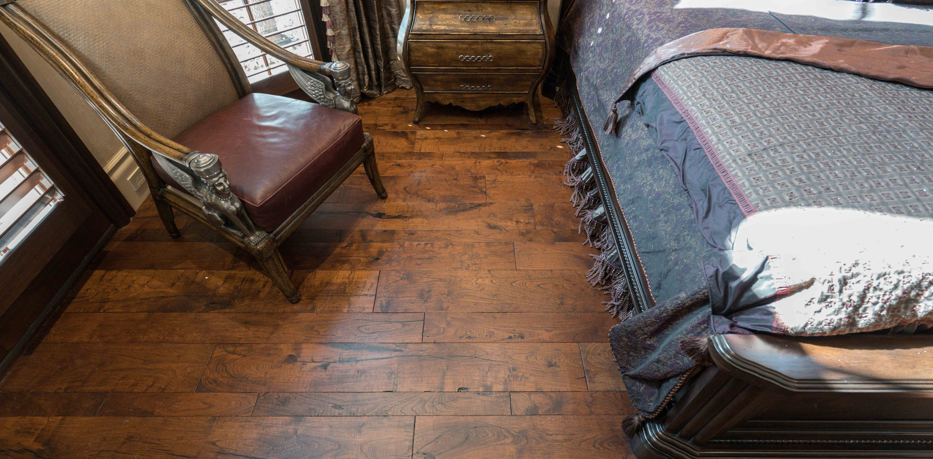 Texas Mesquite Hardwood Flooring