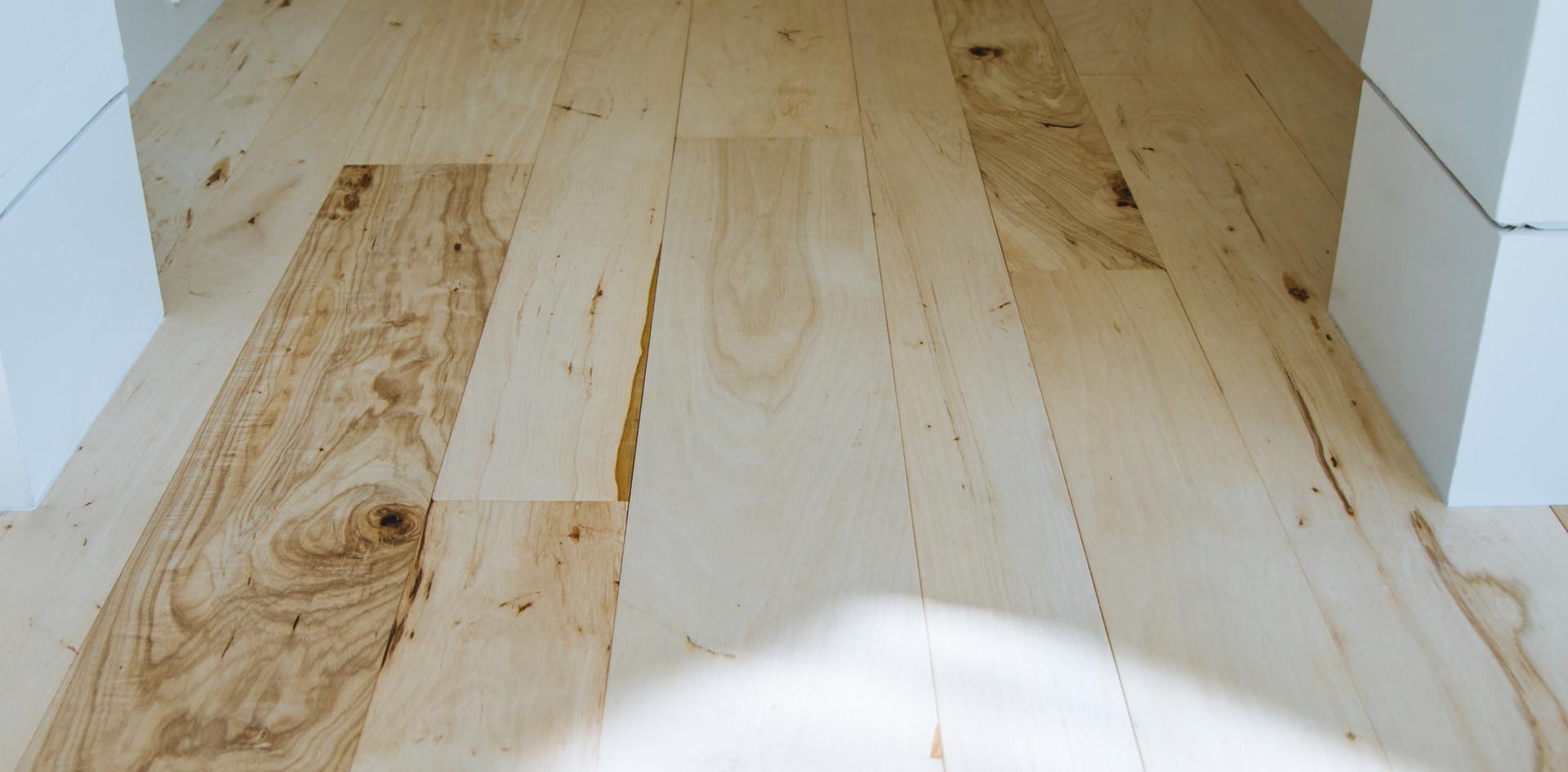 Bleached Southern Pecan Hardwood Flooring