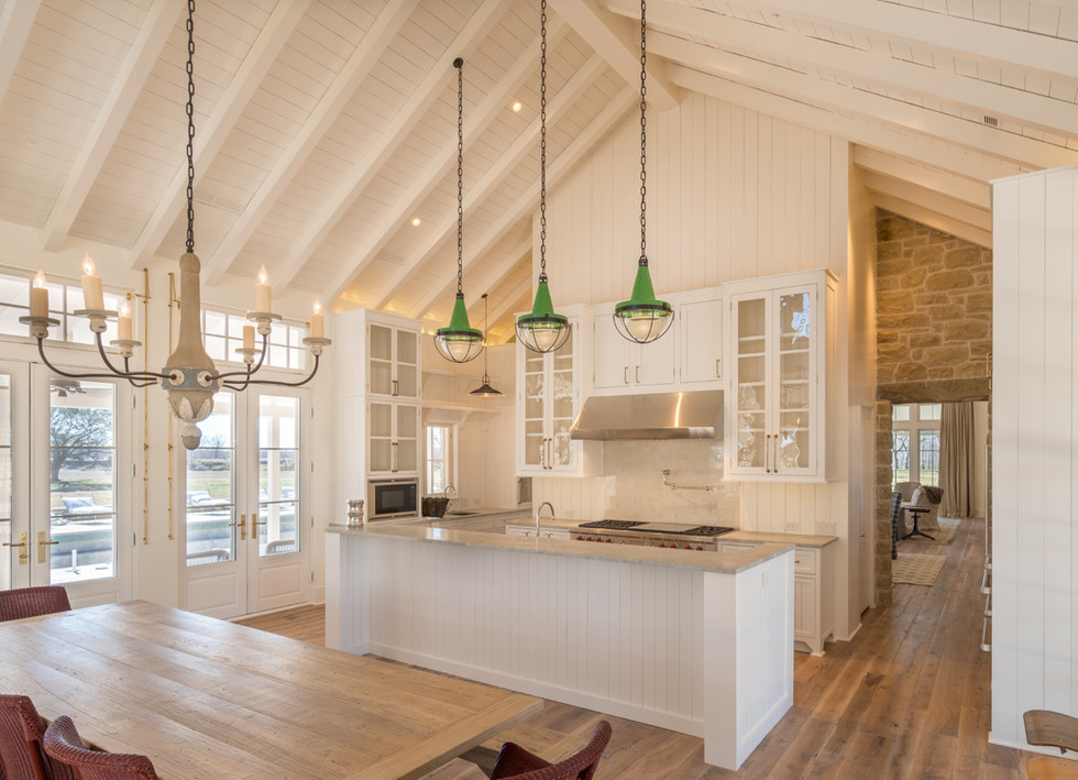 Texas Post Oak Hardwood Flooring and Shiplap Ceiling Material