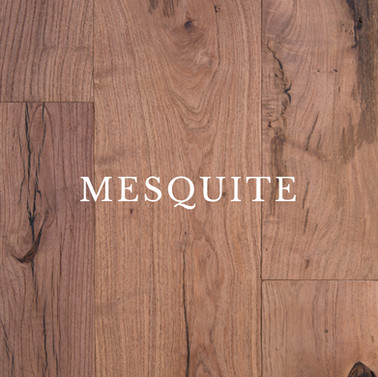 Texas Mesquite Hardwood Flooring Specifications