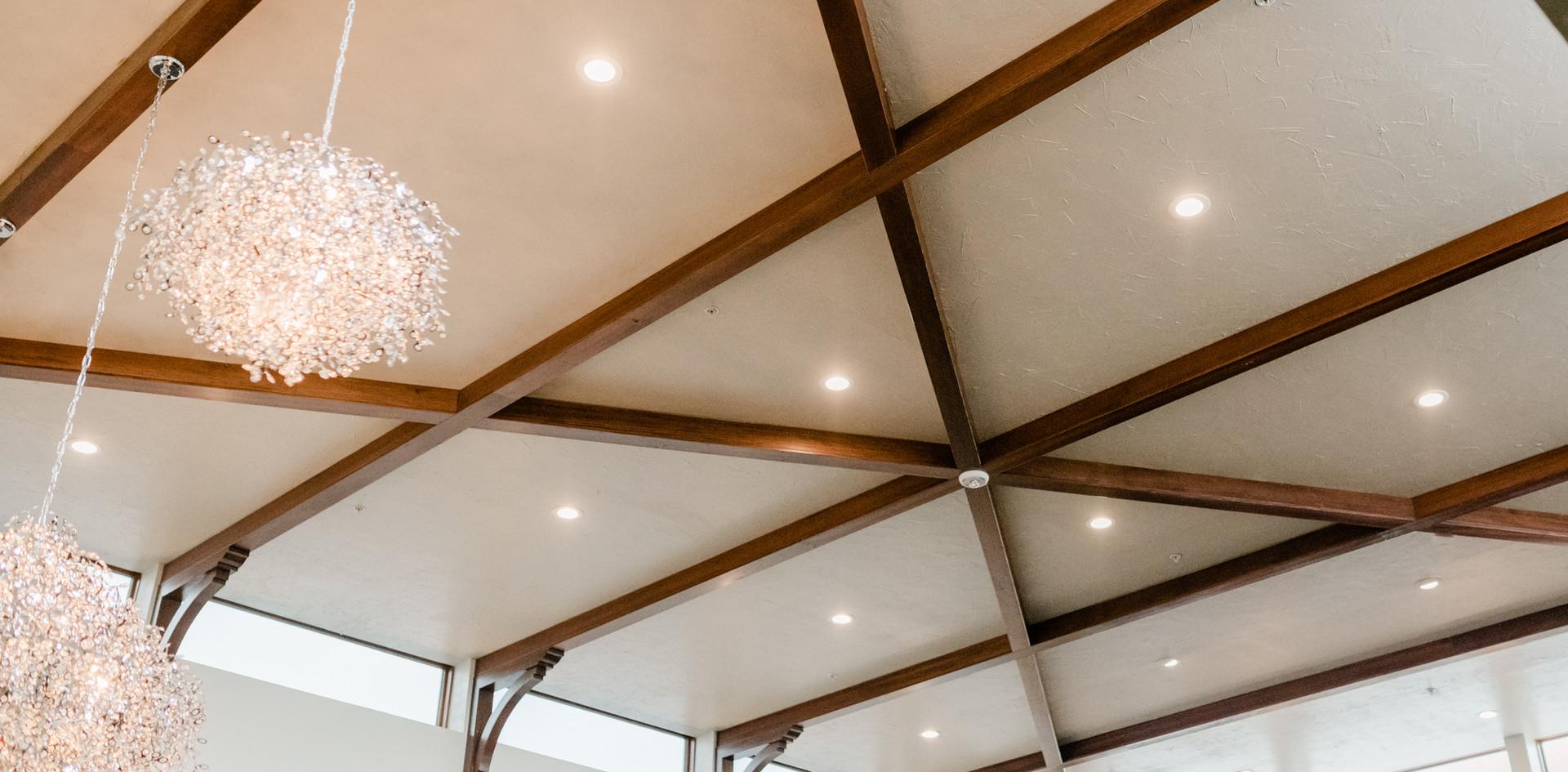 Texas Mesquite Hardwood Ceiling Material