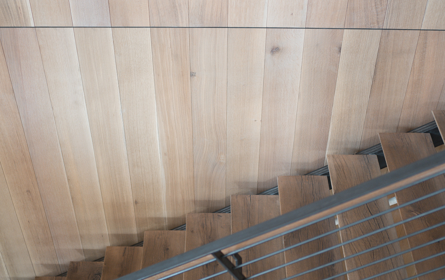 Live Sawn Oak Hardwood Wall Cladding