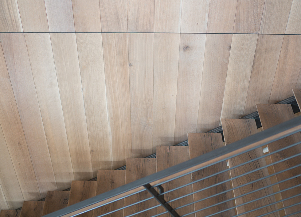Live Sawn Oak Hardwood Wall Cladding