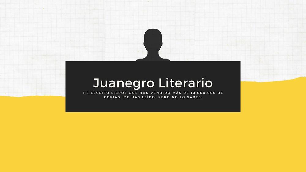Quien es Juanegro Literario
