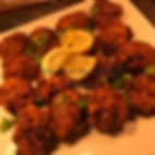 Guardian Occasions Catering Canapes, Onion Bhaji's, Pakoras