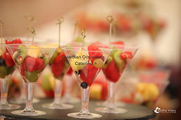 Guardian Occasions Catering Canapes/Fruit Martini