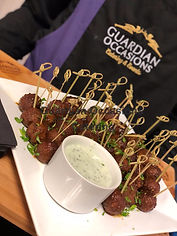 Guardian Occasions Catering Canapes