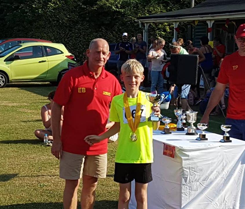 Under 10 Boys Award Ben Hardwick
