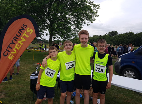 Exe Valley Relays - Junior team - 15th June 2018