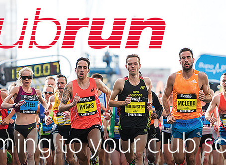 Club Run - English Athletics - Details for 3rd Session - 4th Oct
