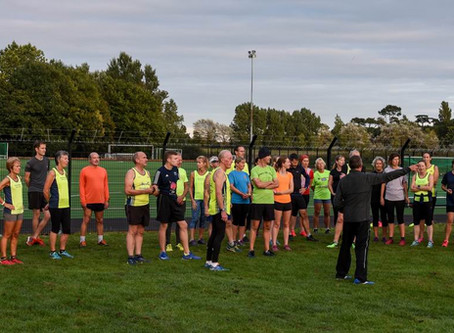 Club Run - English Athletics - 2nd Session - 13th September