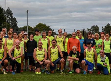 Club Run - English Athletics - Aug to Oct 2018