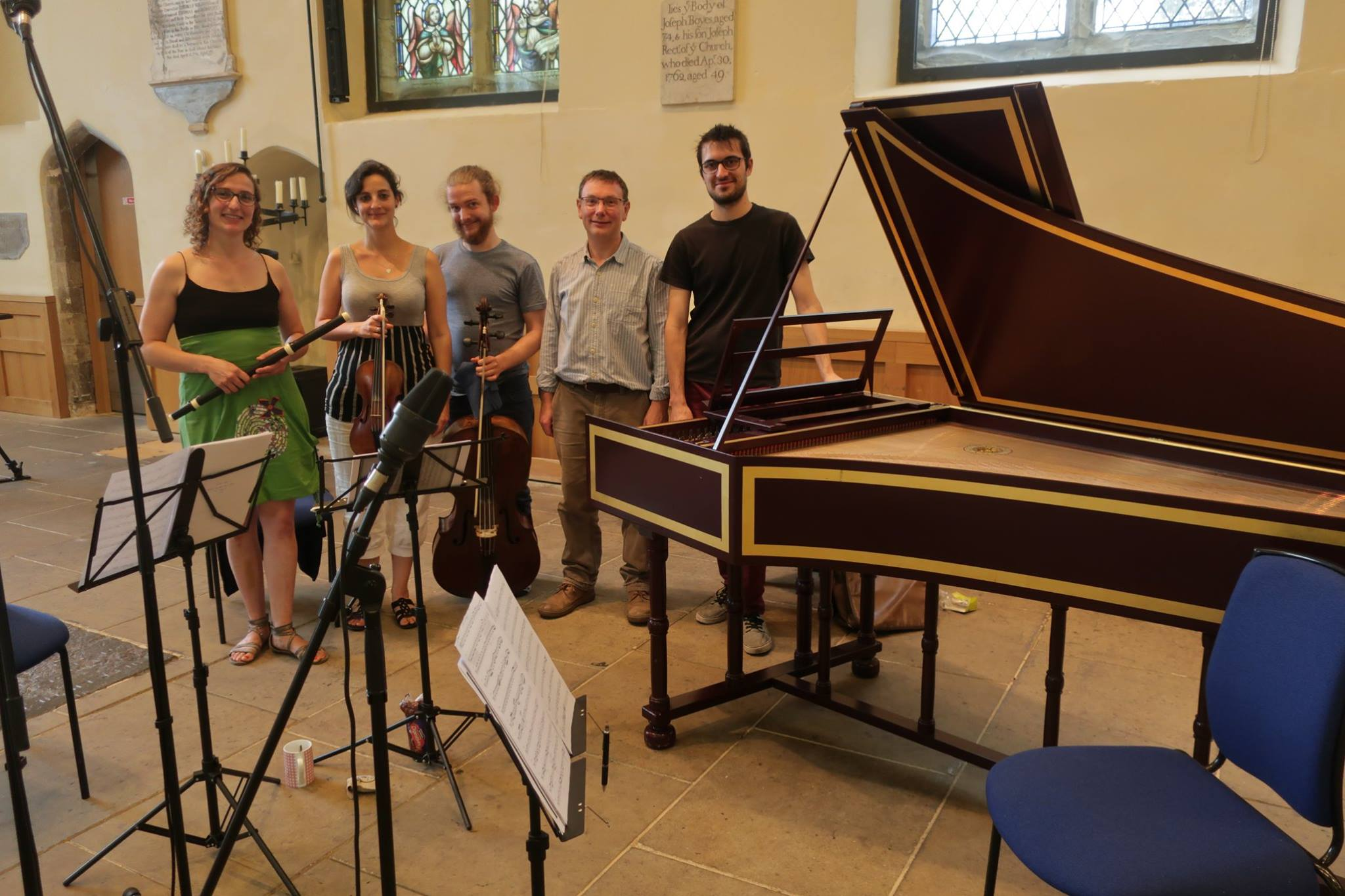 FIRST RECORDING WITH LINN RECORDS