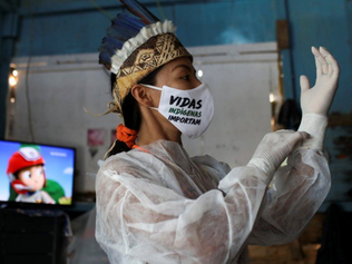In pictures: Indigenous nurse on frontline in virus fight