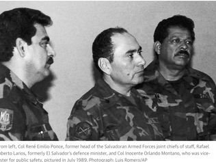 Ex-Salvadoran colonel to be tried over murder of six priests in 1989