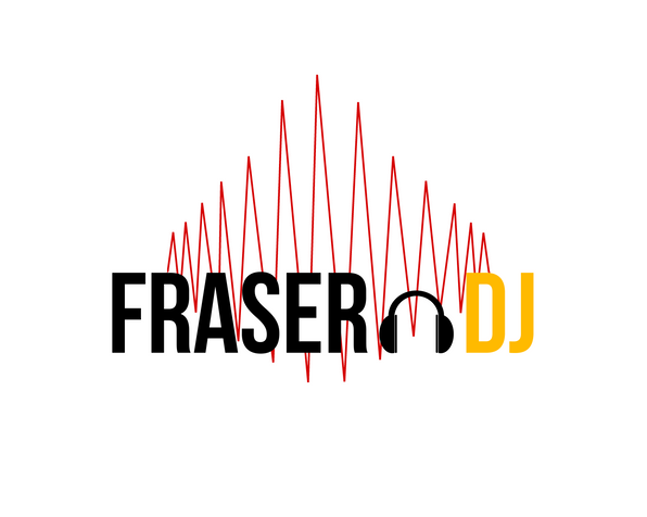 Fraser DJ logo 2 colour red and yellow c