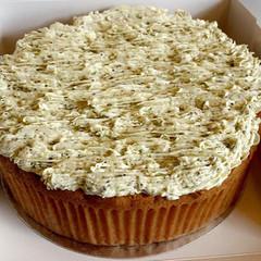 Home Cake w_ Pistachio Buttercream