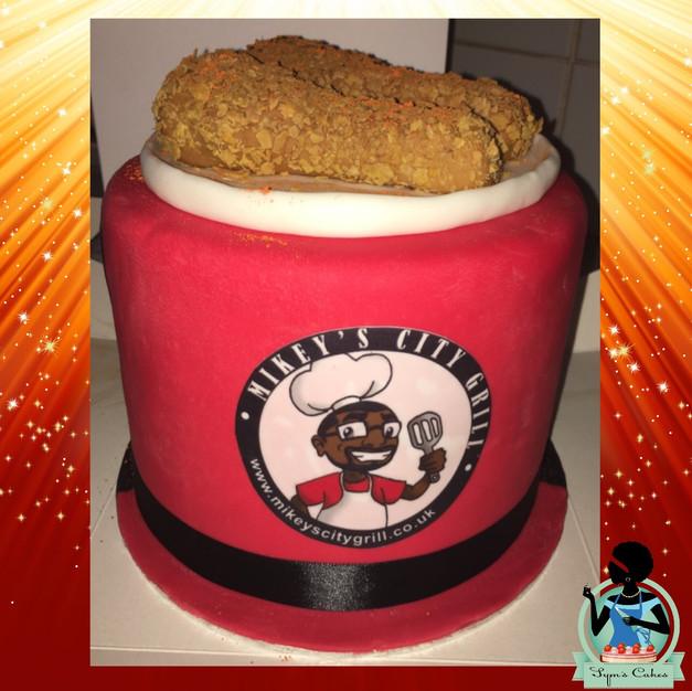 Bucket of Fry Chicken
