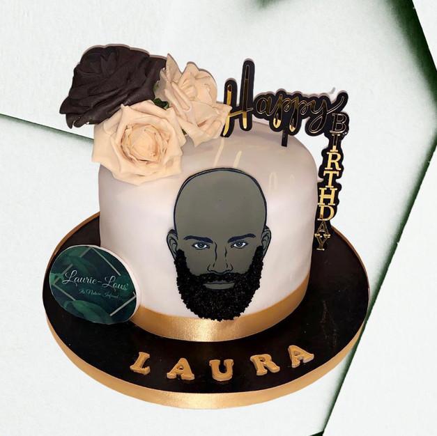 3D Beard Cake