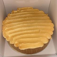 Home Cake w/ Gold Buttercream