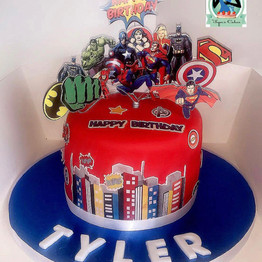 Marvel Superhero Cake