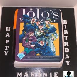 Jo Jo Bizarre Adventure Cake