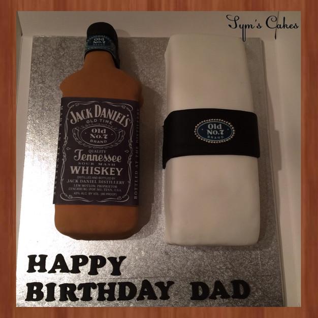 Jack Daniels Bottle & Box
