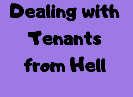 7 Tips  For Dealing With Tenants From Hell