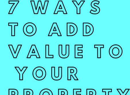 7 Top Tips To Improve Your Rental Properties