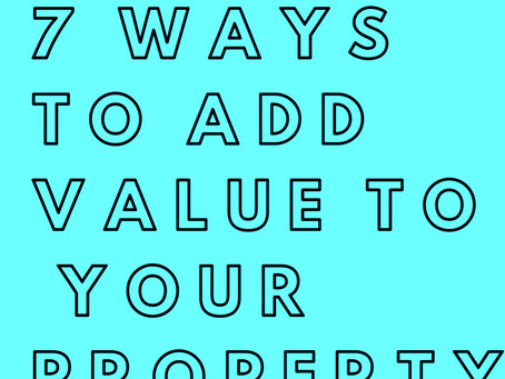 7 Top Tips To Improve Your Rental Properties