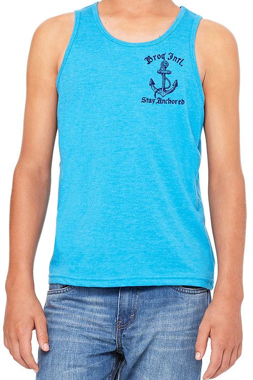 Stay Anchored- Youth Tank or Tee