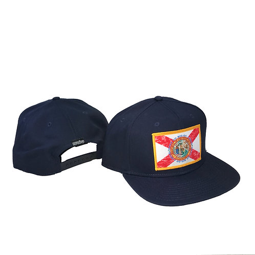 State of BRŌQ Flag Twill snap-back- Assrt'd colors