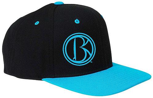 """BRŌQ """"B"""" Icon Flat Bill SnapBack- Assrt'd Colors"""