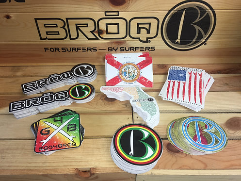Official BRŌQ Stickers