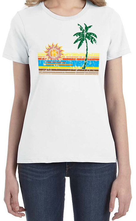 BRŌQ Classic Sunset- Ladies T Shirt