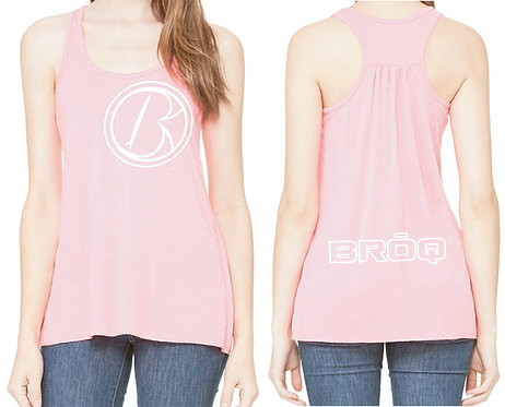 Tilted Icon RB - Ladies Racerback