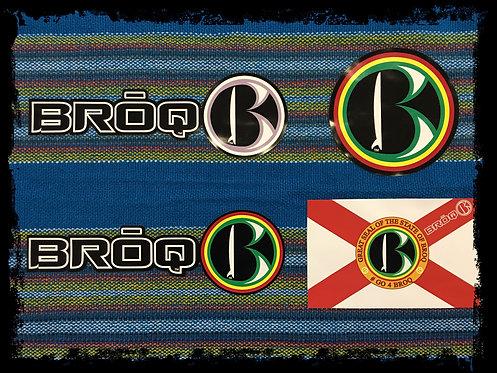 BRŌQ Stickers